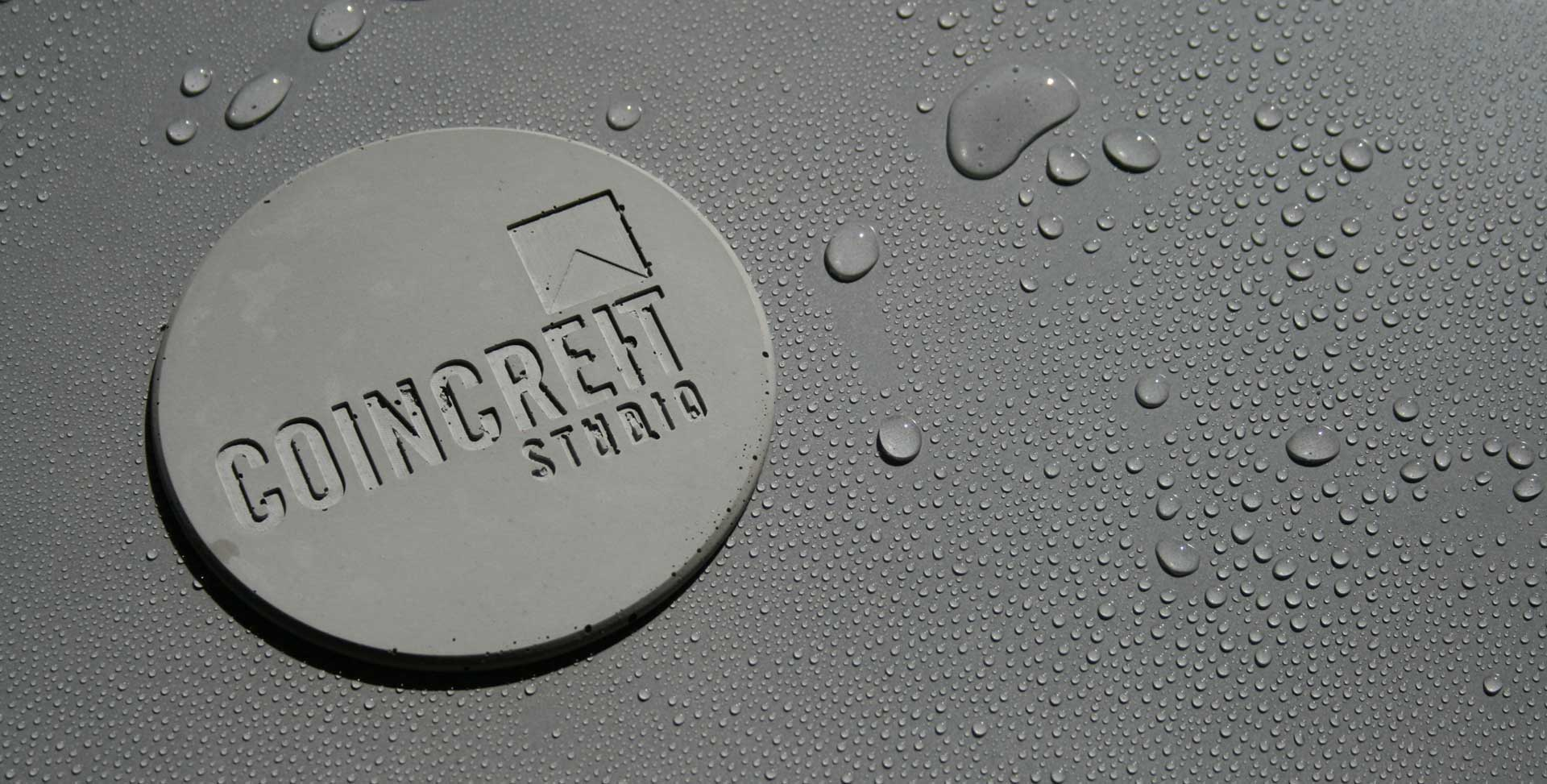 Polished Concrete Coaster