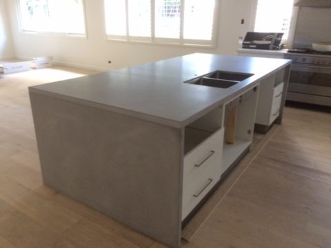 concrete kitchen island polished concrete worktops concrete fair 2430